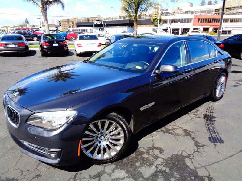 2013 BMW 7 SERIES 750LI 4DR SEDAN charcoal celan carfax loaded comes with the remainder of t