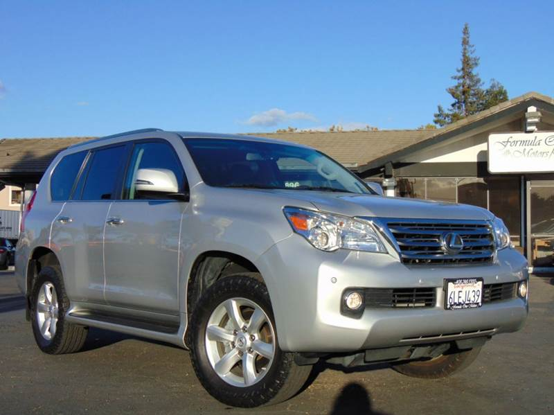 2010 LEXUS GX 460 AWD 4DR SUV silver one ownerclean carfax reportcalifornia vehicleall