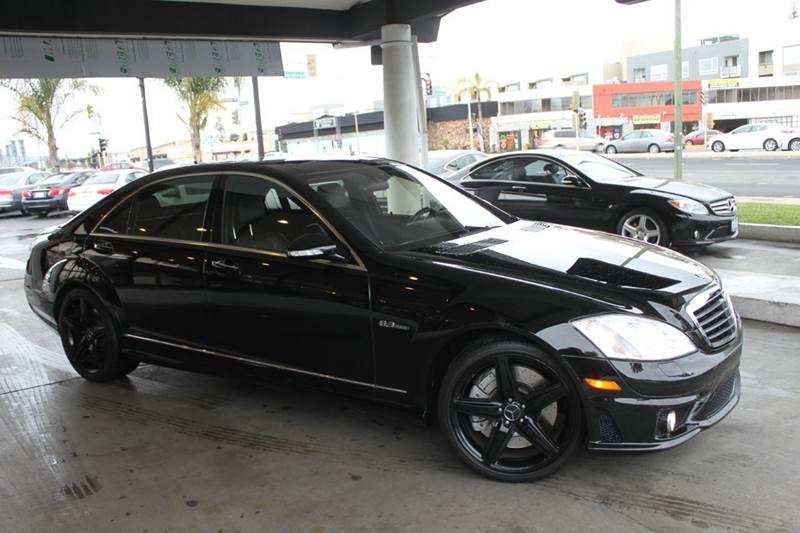 2008 MERCEDES-BENZ S-CLASS S 63 AMG 4DR SEDAN black clean carfaxs63amg triple black packa