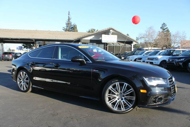 2012 AUDI A7 30T QUATTRO PRESTIGE AWD 4DR SE black this car is a must seesupercharged a7 30 t