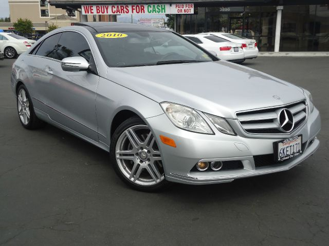 2010 MERCEDES-BENZ E-CLASS E350 2DR COUPE silver clean car faxnavigation panorama  roof