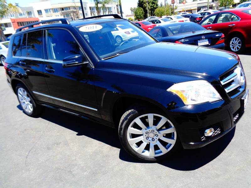 2011 MERCEDES-BENZ GLK GLK350 4DR SUV black 2-stage unlocking doors abs - 4-wheel active head r