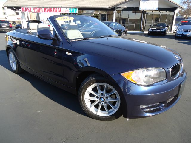 2011 BMW 1 SERIES 128I CONVERTIBLE montego blue metalic  premium pkg this vehicle was kept in the