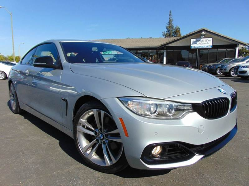 2014 BMW 4 SERIES 428I 2DR COUPE SULEV silver clean carfaxone ownercalifornia vehicles