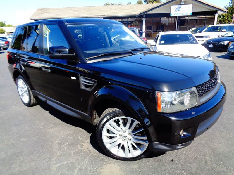 2010 LAND ROVER RANGE ROVER SPORT HSE 4X4 4DR SUV black luxury sport  clean carfax  navigati