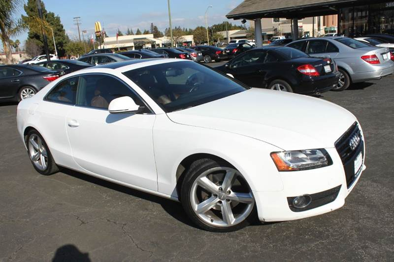 2008 AUDI A5 QUATTRO AWD 2DR COUPE 6A white fully loaded with power everythingclean carfaxna