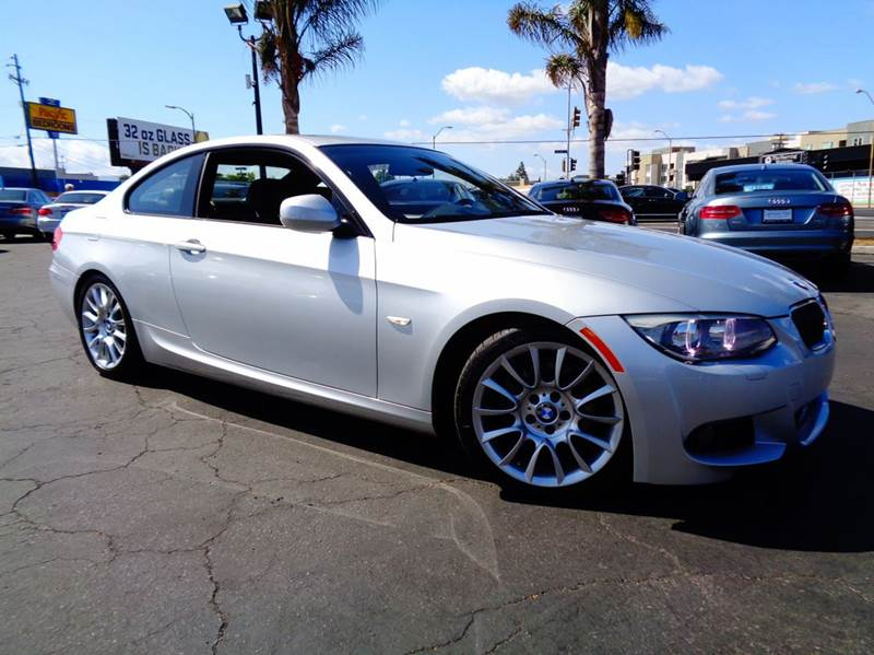 2012 BMW 3 SERIES 328I 2DR COUPE SULEV silver 1 owner  clean carfax  m sport package  na