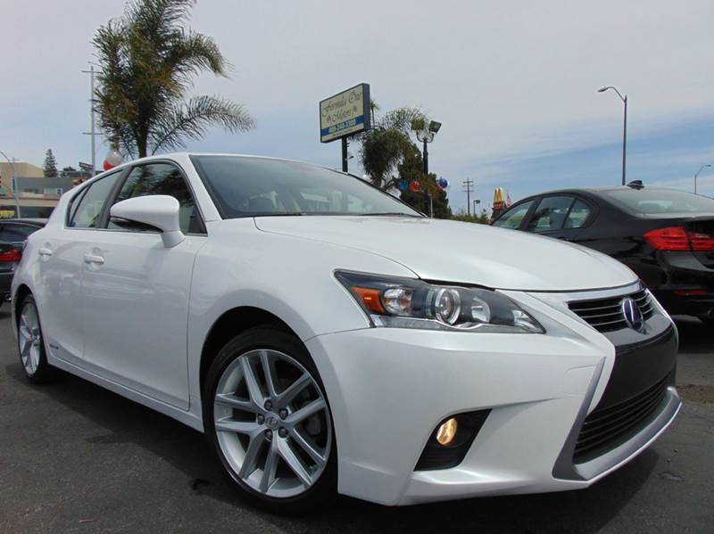 2014 LEXUS CT 200H BASE 4DR HATCHBACK white 2-stage unlocking doors abs - 4-wheel air filtration
