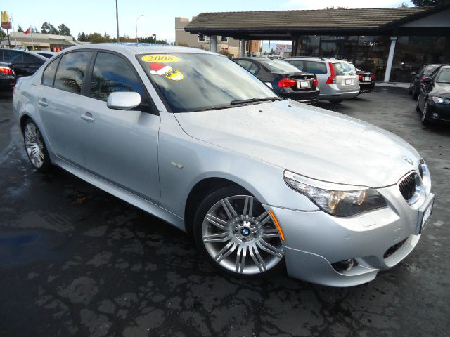 2008 BMW 5 SERIES 550I SEDAN LUXURY silver fully loaded equipped with sport package premium pack