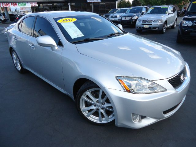 2007 LEXUS IS 250 IS 250 6-SPEED SEQUENTIAL silver navigation system - navigational systems  info