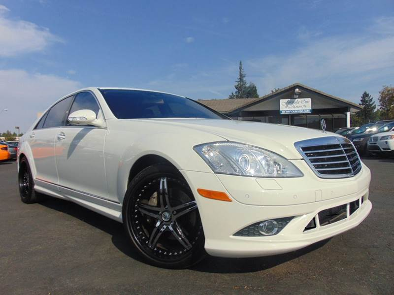 2008 MERCEDES-BENZ S-CLASS S 550 4DR SEDAN white 2-stage unlocking doors abs - 4-wheel active h
