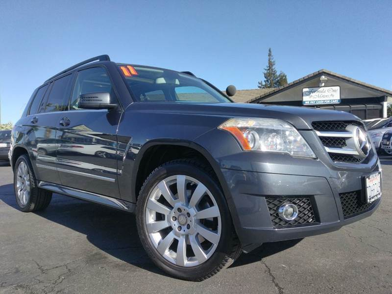 2011 MERCEDES-BENZ GLK GLK 350 4DR SUV gray clean carfaxone ownernavigationpanoramic