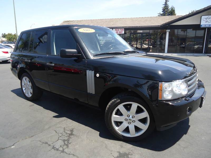 2007 LAND ROVER RANGE ROVER HSE 4DR SUV 4WD black loaded  clean title navigation system