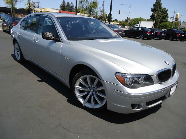 2007 BMW 7 SERIES 750LI 4DR SEDAN silver navigation pkg  comfort access -   smart key automatic