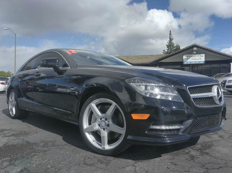 2012 MERCEDES-BENZ CLS CLS 550 4DR SEDAN black one ownerclean carfaxcalifornia vehiclena