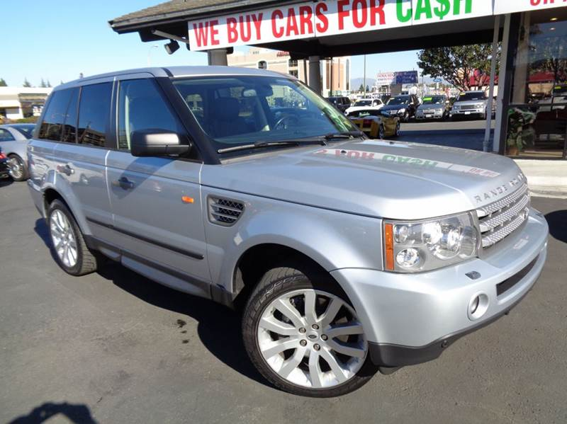 2007 LAND ROVER RANGE ROVER SPORT SUPERCHARGED 4DR SUV 4WD silver clean carfax factory supercha