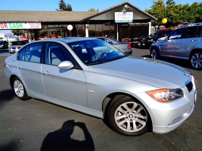 2007 BMW 3 SERIES 328I 4DR SEDAN silver 2-stage unlocking doors abs - 4-wheel air filtration -