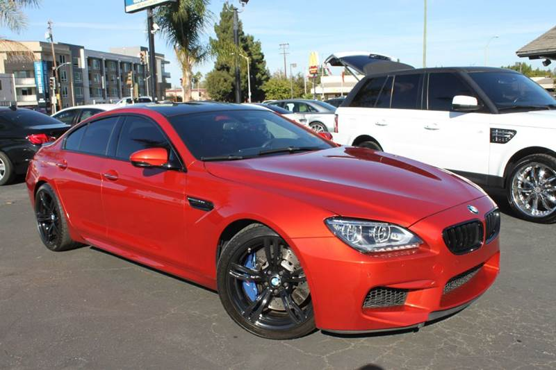 2014 BMW M6 GRAN COUPE 4DR SEDAN orange 2-stage unlocking doors abs - 4-wheel active head restra