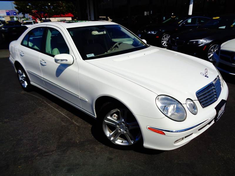 2006 MERCEDES-BENZ E-CLASS E350 4DR SEDAN white california car 1 owner clean carfax  ab