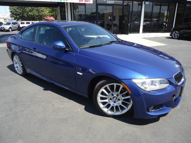 2012 BMW 3 SERIES 328I 2DR COUPE lemans-blue metallic clean car faxm sport navigationm sports s