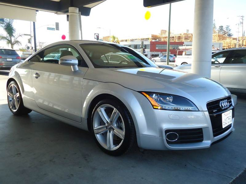 2013 AUDI TT 20T QUATTRO PREMIUM PLUS AWD 2D silver 1 owner  california vehicle low mileag