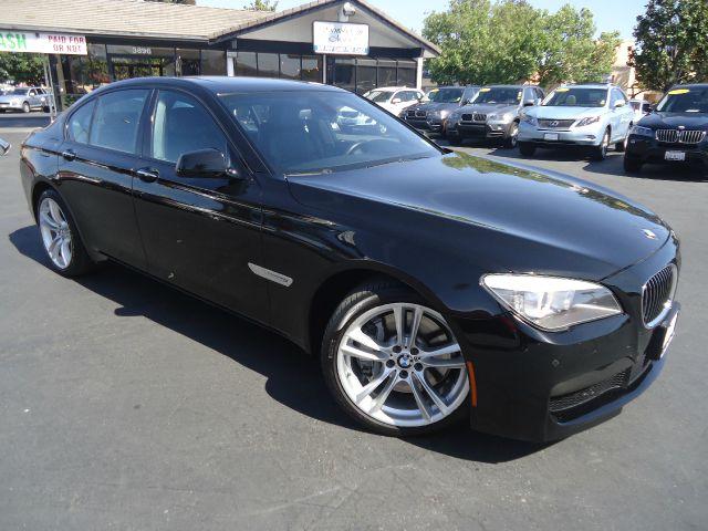 2012 BMW 7 SERIES 750I 4DR SEDAN black 2-stage unlocking - remote abs - 4-wheel active suspensi