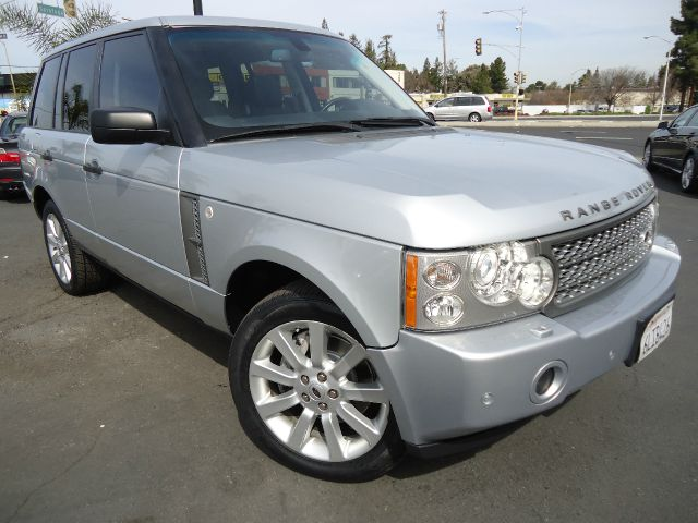 2007 LAND ROVER RANGE ROVER SUPERCHARGED silver one owner clean car fax california carall service