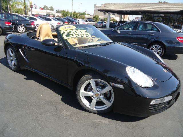 2008 PORSCHE BOXSTER BASE 2DR CONVERTIBLE black clean carfax california car well maintained