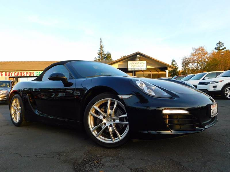 2013 PORSCHE BOXSTER BASE 2DR CONVERTIBLE black 2-stage unlocking doors abs - 4-wheel active hea