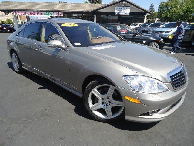 2008 MERCEDES-BENZ S-CLASS S550 4DR SEDAN champaign 2-stage unlocking - remote abs - 4-wheel ac