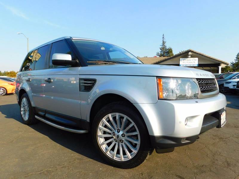 2011 LAND ROVER RANGE ROVER SPORT HSE 4X4 4DR SUV silver 2-stage unlocking doors 4wd selector - e