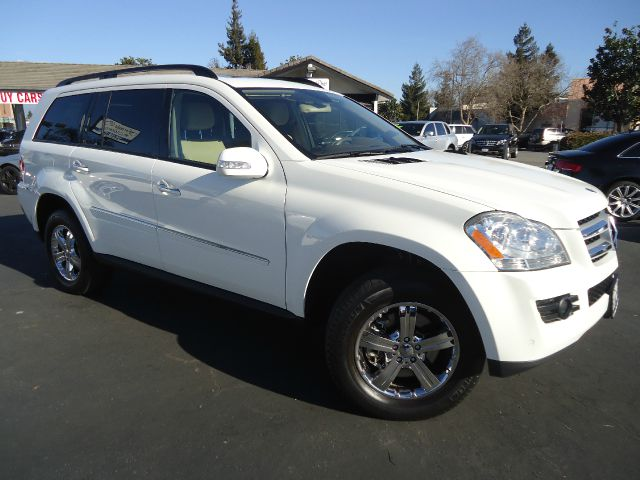 2007 MERCEDES-BENZ GL-CLASS GL450 AWD 4MATIC 4DR SUV white 2-stage unlocking - remote 3rd row sun
