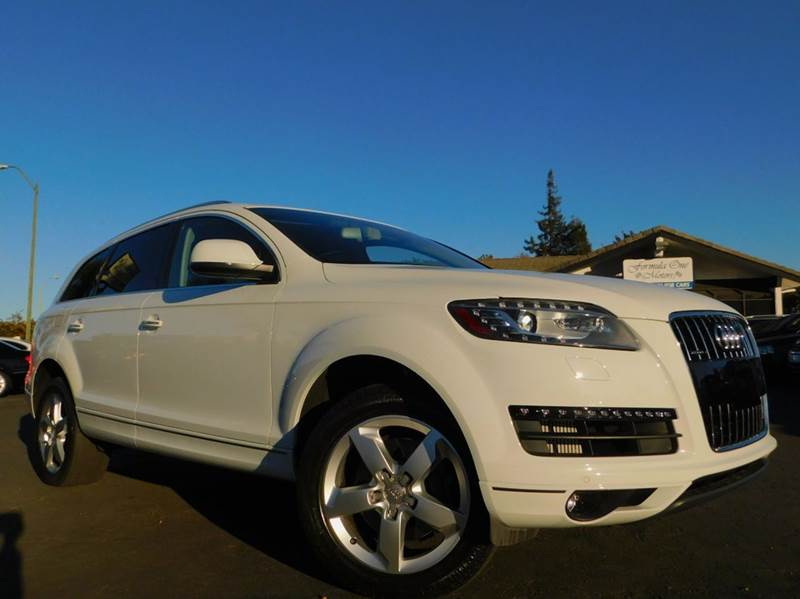 2015 AUDI Q7 30 QUATTRO TDI PREMIUM PLUS AWD white loaded with optionstdi premium plus awd 3