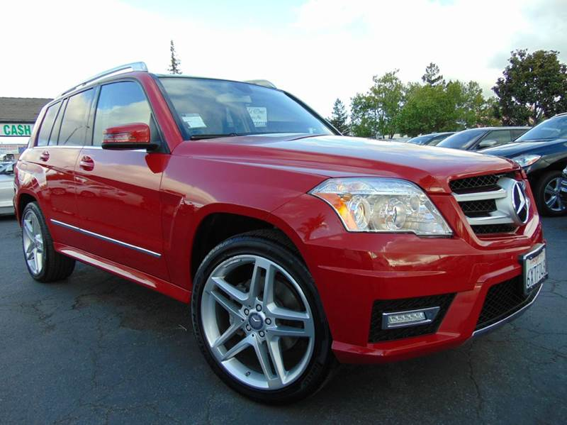2012 MERCEDES-BENZ GLK GLK 350 4DR SUV red clean carfaxcalifornia vehicleloaded with opti