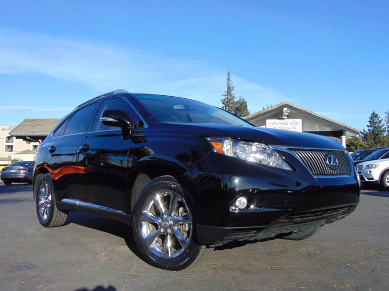 2012 LEXUS RX 350 4DR SUV black 2-stage unlocking doors abs - 4-wheel air filtration airbag dea