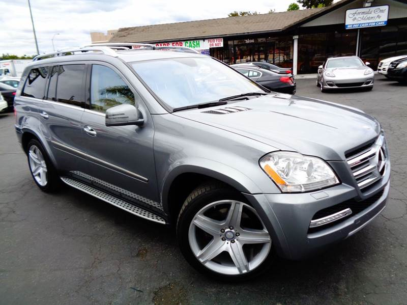 2012 MERCEDES-BENZ GL-CLASS GL550 4MATIC AWD 4DR SUV silver california car 1 owner 2-stage