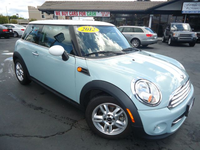 2012 MINI COOPER HARDTOP 2DR HATCHBACK lt blue low miels come with the remainder of the factory