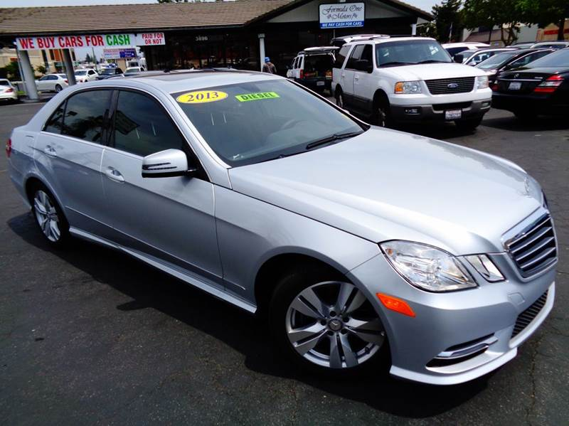 2013 MERCEDES-BENZ E-CLASS E350 BLUETEC SPORT 4DR SEDAN gray 2-stage unlocking doors abs - 4-whee