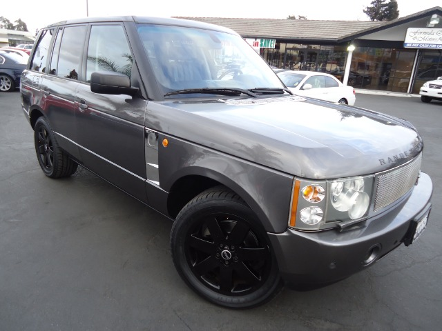 2005 LAND ROVER RANGE ROVER HSE bonnati grey metalic the 2005 range rover remains the ultimate per