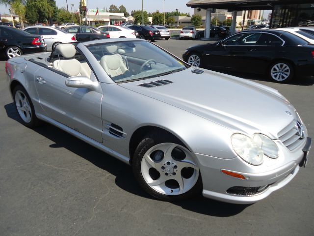 2005 MERCEDES-BENZ SL-CLASS SL500 2DR CONVERTIBLE silver well maintained california vehicle t