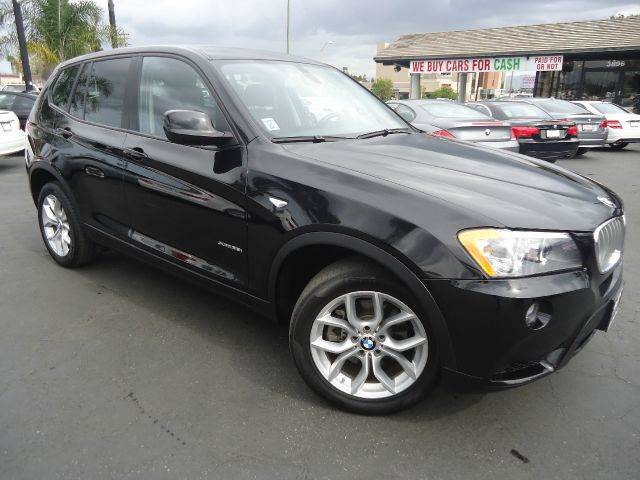 2012 BMW X3 XDRIVE35I AWD 4DR SUV black loaded navigation system premium sound package comes