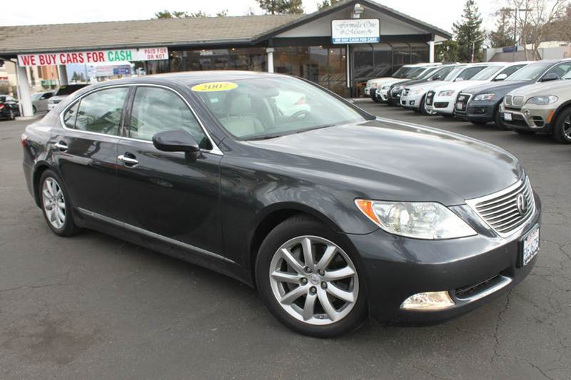 2007 LEXUS LS 460 L 4DR SEDAN gray clean carfaxthis is the long version of the lexus ls460h