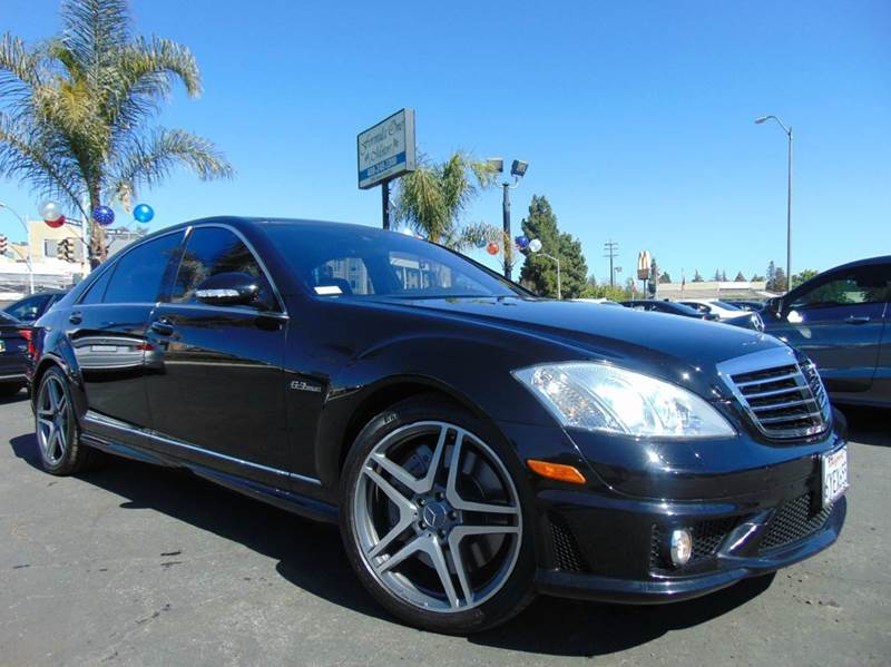 2009 MERCEDES-BENZ S-CLASS S 63 AMG 4DR SEDAN black 2-stage unlocking doors abs - 4-wheel active