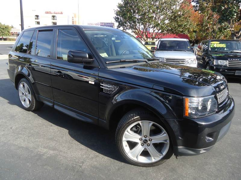 2012 LAND ROVER RANGE ROVER SPORT HSE LUX 4X4 4DR SUV black new arrival luxurious sport utilit