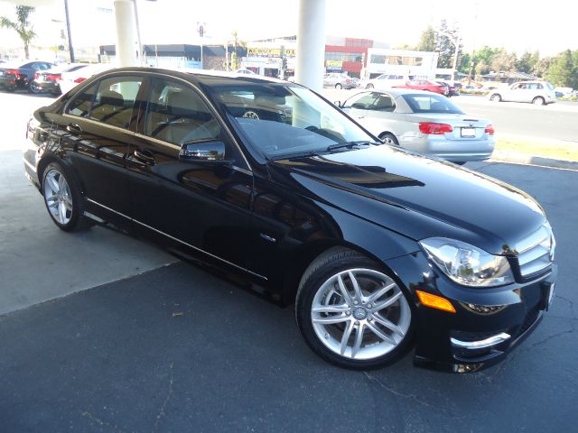 2012 MERCEDES-BENZ C-CLASS C250 SPORT 4DR SEDAN black comes with factory warranty loaded sport