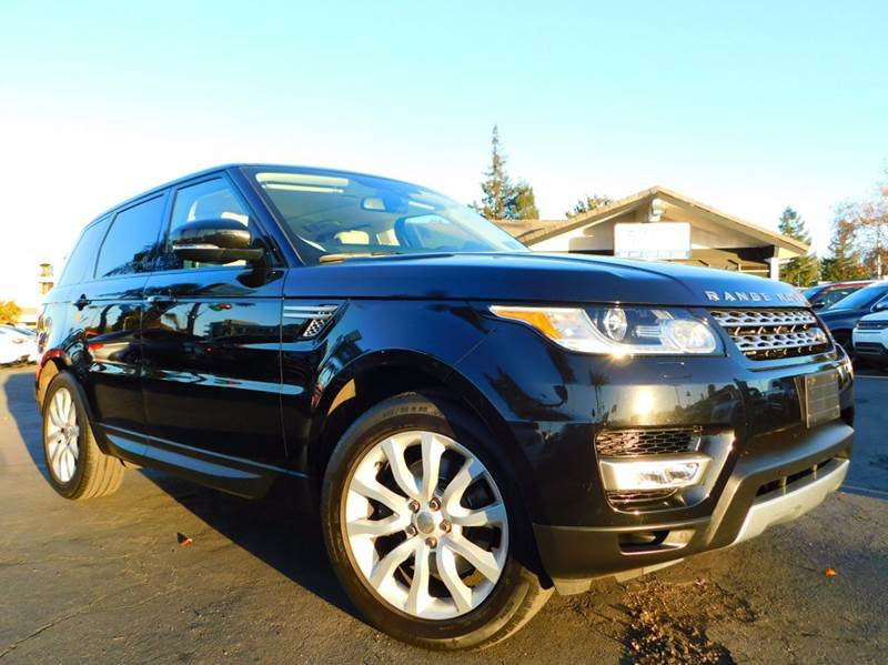 2014 LAND ROVER RANGE ROVER SPORT HSE 4X4 4DR SUV black 2-stage unlocking doors 4wd type - full t