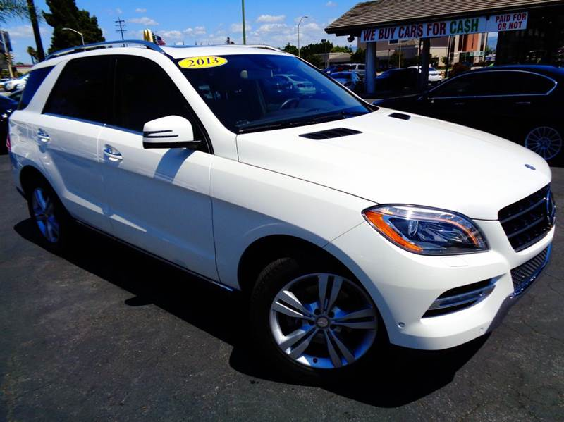 2013 MERCEDES-BENZ M-CLASS ML350 4MATIC AWD 4DR SUV white clean carfax 4matic navigation sys