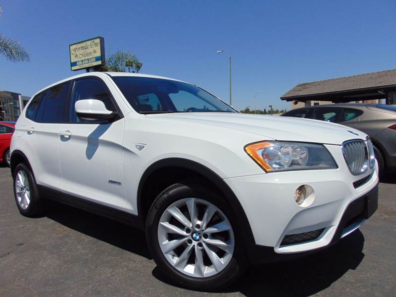 2014 BMW X3 XDRIVE28I AWD 4DR SUV white 2-stage unlocking doors 4wd type - full time abs - 4-whe