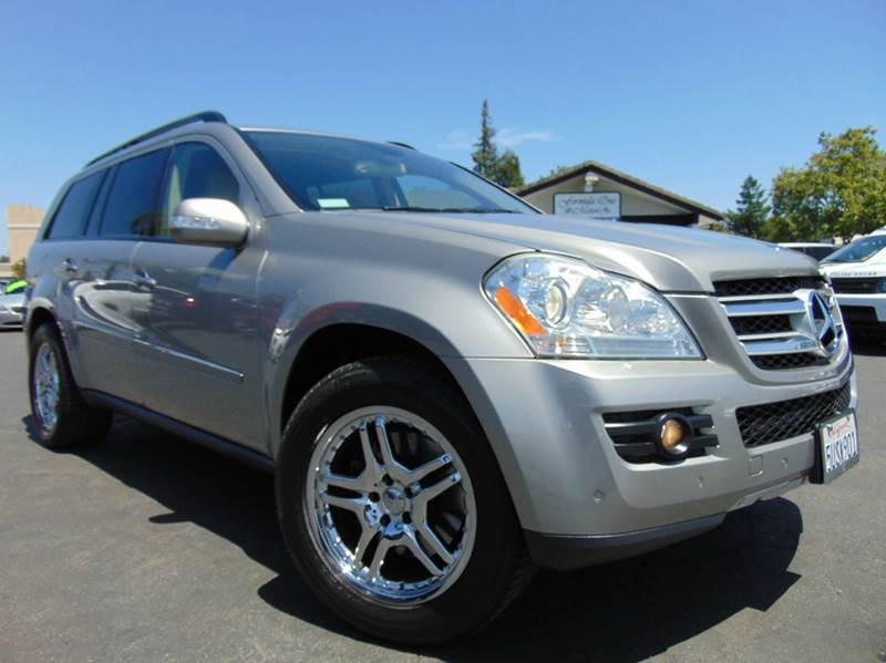 2007 MERCEDES-BENZ GL-CLASS GL 450 AWD 4MATIC 4DR SUV gold 2-stage unlocking doors 3rd row moonro