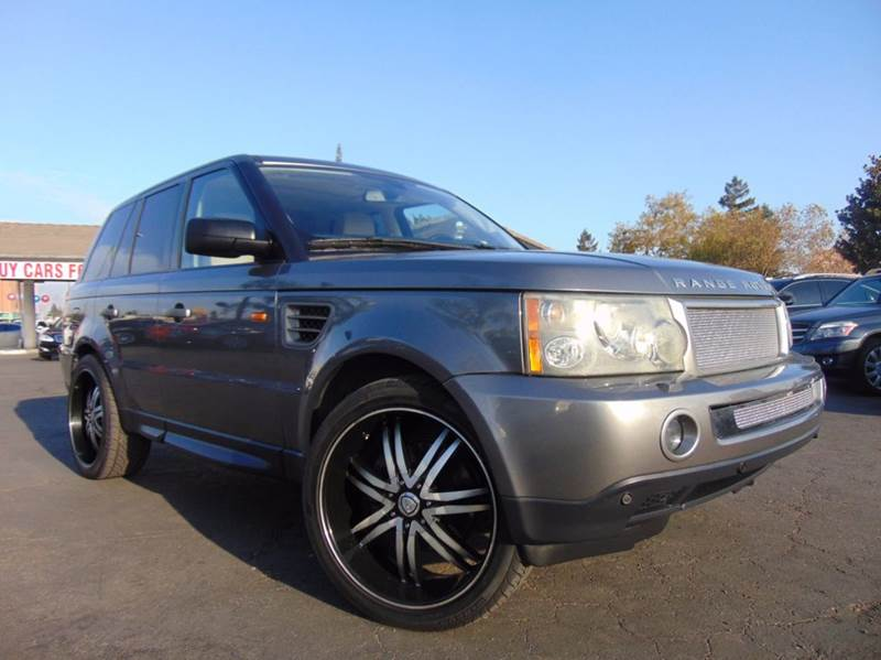 2008 LAND ROVER RANGE ROVER SPORT HSE 4X4 4DR SUV champagne 4wd selector - electronic hi-lo 4wd